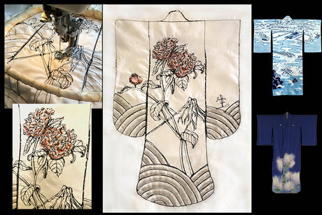 Workshop | The Creative Craft Show/ Sewing for Pleasure/ Fashion & Embroidery - Spring 2020 | Freehand Kimono Creation