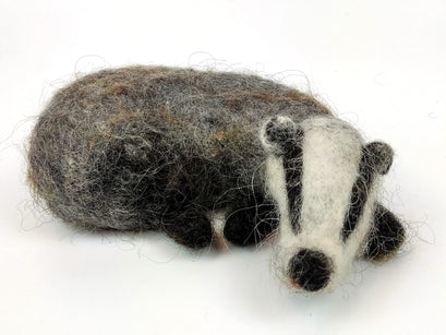 Workshop | The Creative Craft Show/ Sewing for Pleasure/ Fashion & Embroidery - Spring 2020 | Needle Felt A Cute Sleeping Badger