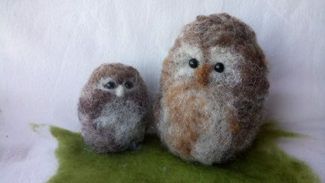 Workshop | Creative Craft Show : Manchester - Autumn 2018 | NEEDLE FELT A FLUFFY OWL CHICK WITH SOPHIE BUCKLEY FROM THE MAKERSS