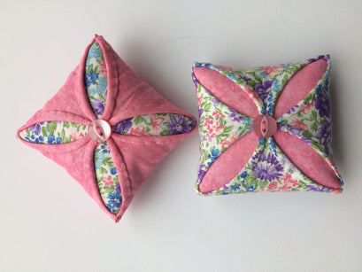 Workshop | Creative Craft Show : London Spring 2019 | A SECRET GARDEN PIN CUSHION with Pat Lumsdale