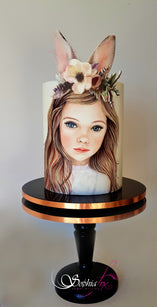 Workshop | Cake International on Tour 2020 | Bunny Girl with Sophia Fox