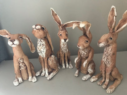 Workshop | The Creative Craft Show/ Simply Christmas/ Art Materials Live | MAKE YOUR OWN CERAMIC HARE with Ros Ingram