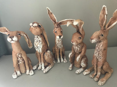 Workshop | The Creative Craft Show (featuring Art Materials Live)/ Simply Christmas - Autumn 2019 | Make your own ceramic hare with Ros Ingram