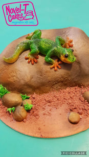 Workshop | Cake International 2018: NEC - Autumn 2018 | Tanya Ross – Gary The Airbrushed Gecko  (MCV)
