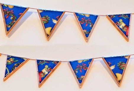 Workshop | The Creative Craft Show (featuring Art Materials Live)/ Simply Christmas - Autumn 2019 | Make This Victorian Christmas Bunting in Stained Glass