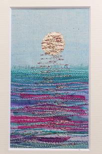 Workshop | The Creative Craft Show/ Sewing for Pleasure/ Fashion & Embroidery - Spring 2020 | Machine Embroidered Seascapes
