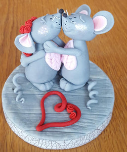 Workshop | Cake International 2018: NEC - Autumn 2018 | CUTE KISSING MICE - Jacqui Kelly (Renshaw Academy)