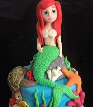 Workshop | Cake International 2018: NEC - Autumn 2018 | MERMAID CAKE TOPPER with Molly Robbins - Molly's Creative Cakes