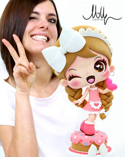 Workshop | Cake International on Tour 2020 | Isabelle with Molly Coppini