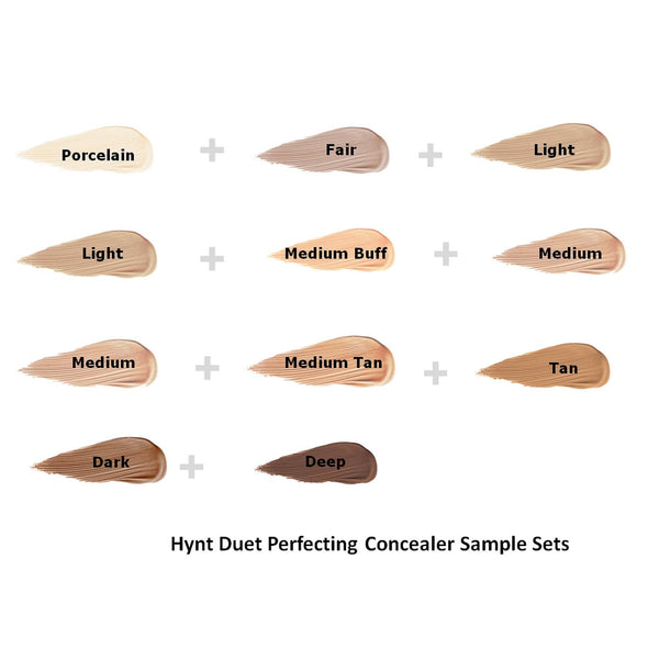 Hynt Beauty Duet Perfection Concealer Sample Sets