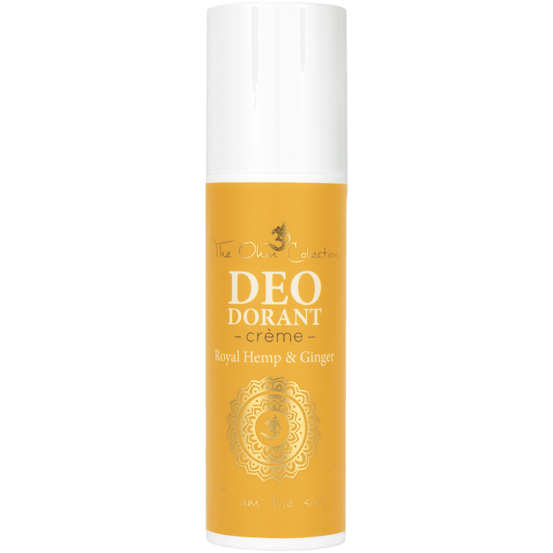 The OHM Collection - creme deo - magnesium -royal hemp & ginger - 50 ml