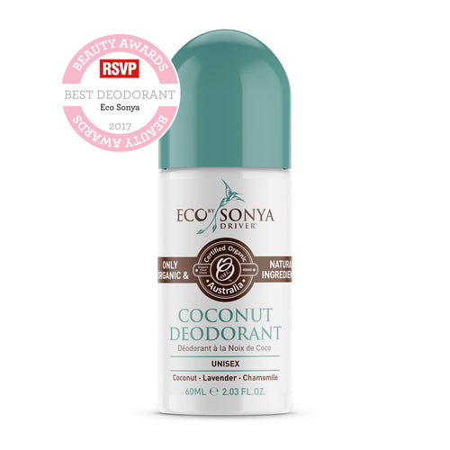 Eco by Sonya Coconut Roll On Deodorant aluminiumvrij