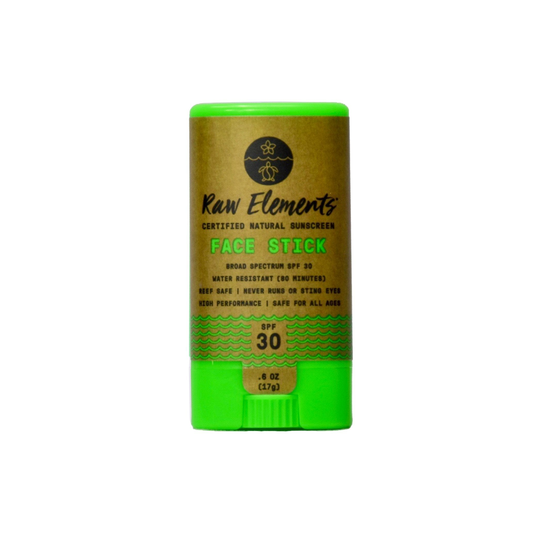 Raw-Elements-sunstick-face-SPF30-non nano zink oxide bescherming