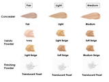 Hynt Beauty Discovery Kits Fair Light Medium shades