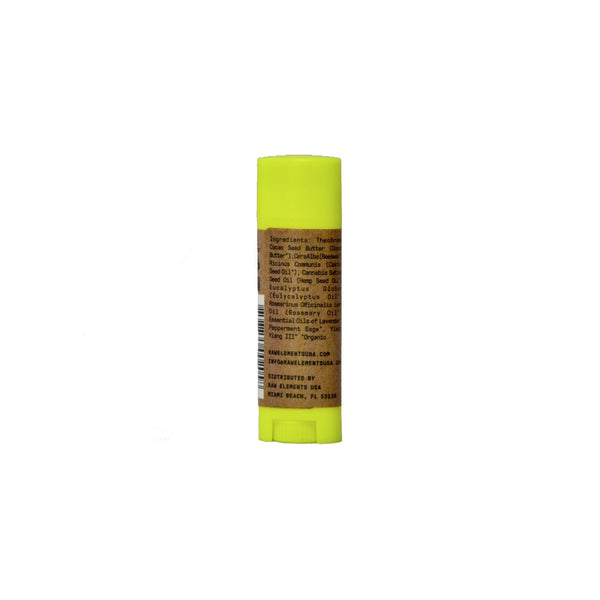 Raw Elements Herbal Rescue Lipbalm -achterzijde