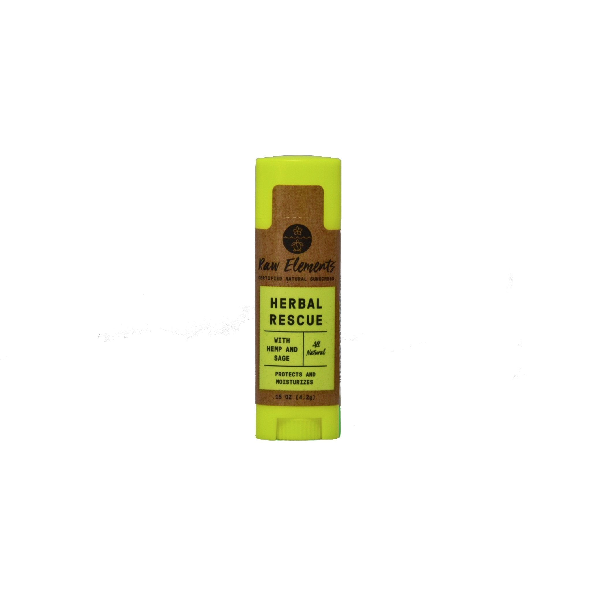 Raw Elements Herbal Rescue Lipbalm