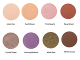 Hynt Perfetto Pressed Eyeshadows Colorchart