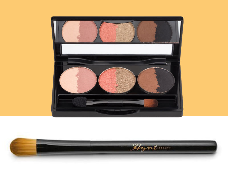 Hynt Sweet Six Sahara Eyeshadow Palette + Shadow Blender Brush