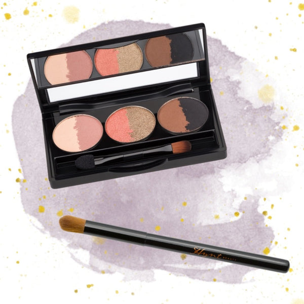 Hynt Beauty Sweet Six Sahara + Shadow Blender Brush set