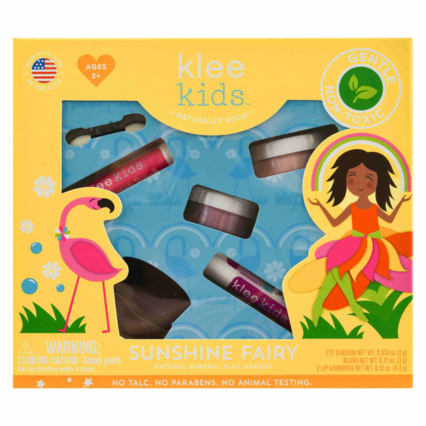 Klee Kids veilige kinder speel make up set Sunshine Fairy - geel