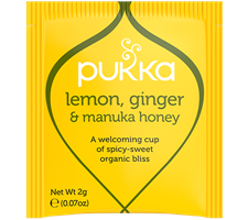 Lemon Ginger  & Manuka Honey