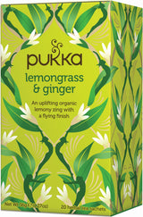 PUKKA Lemongrass & Ginger thee