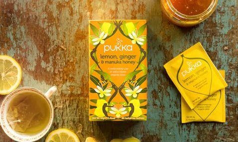 PUKKA Lemongrass, Ginger & Manuka thee