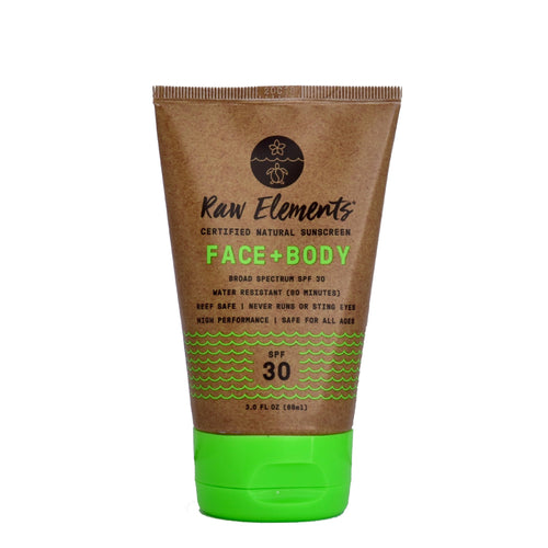 Raw Elements zonnebrand face + body tube voorzijde