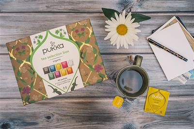 PUKKA Tea Selection Box Sfeer foto dicht
