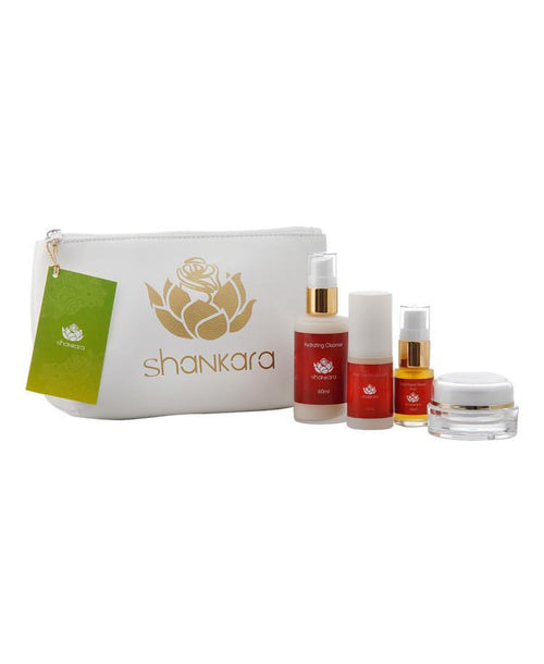 Shankara - Travel/trial kit - Pitta - Normaal/gecombineerd huidbeeld