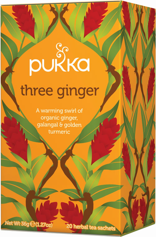 PUKKA Three Ginger thee