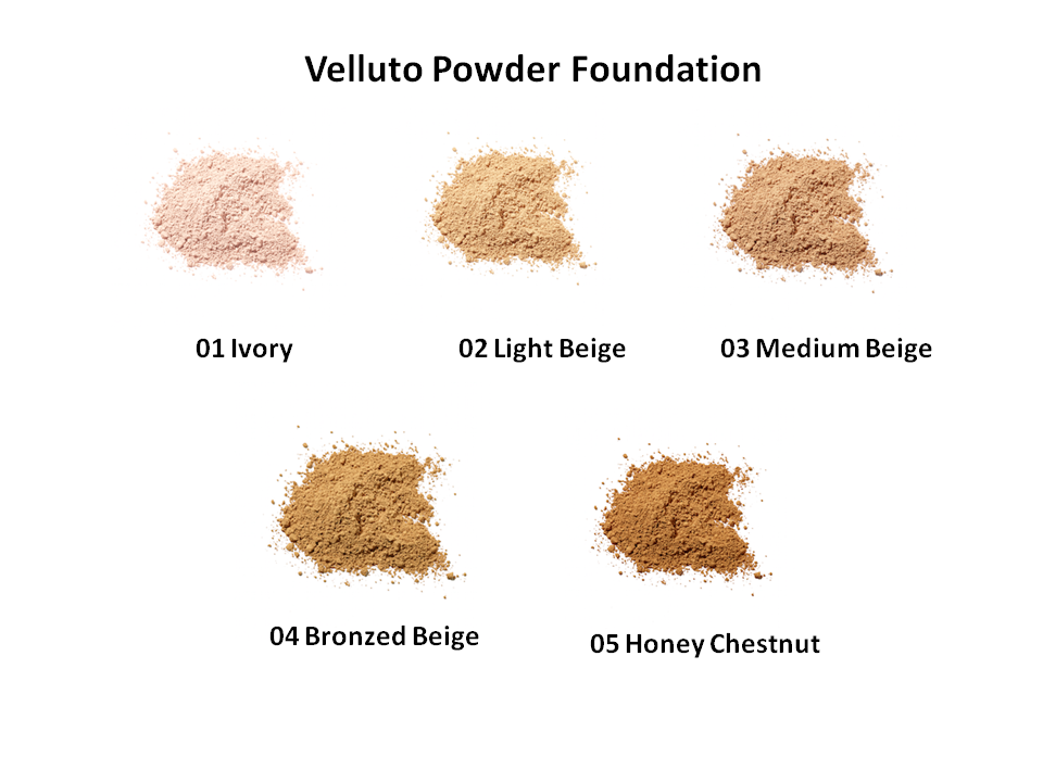 Velluto Pure Powder Foundation Refill
