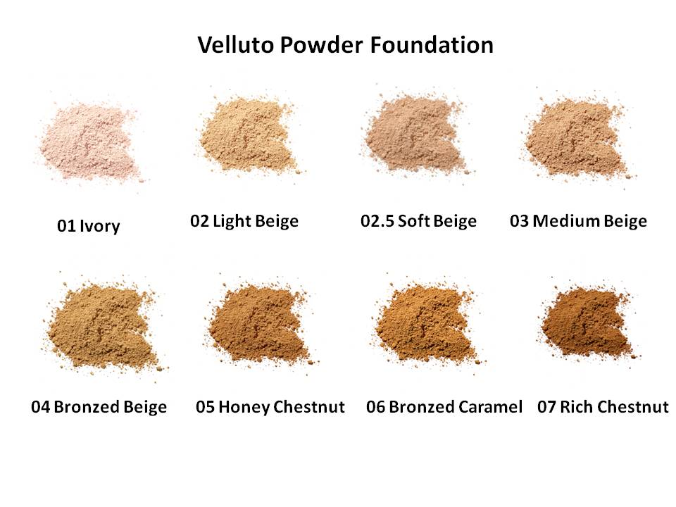 Velluto Pure Powder Foundation Sample