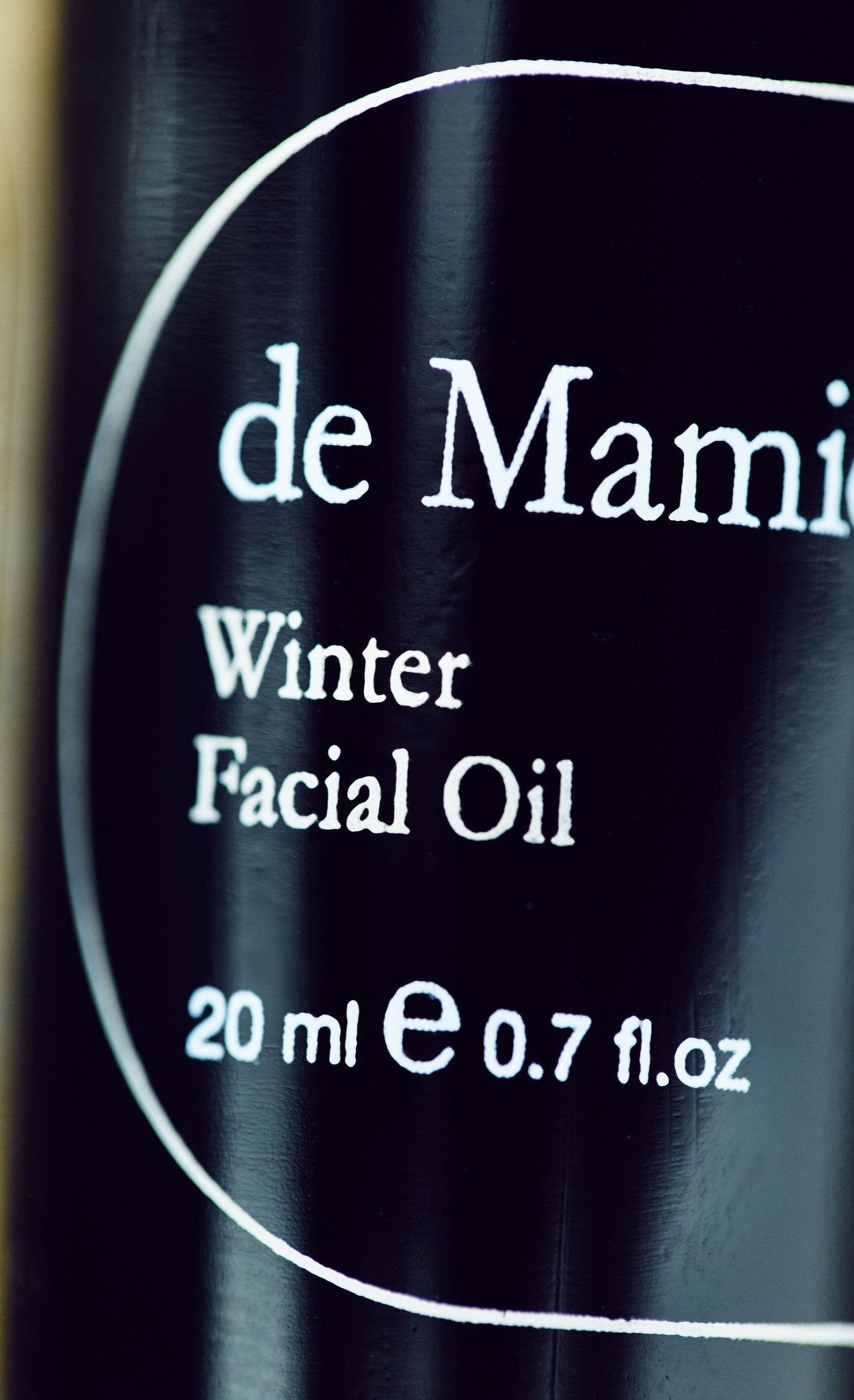 deMamiel Winter Facial Oil - biologish, handgeblend