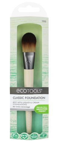 EcoTools duurzaam vegan Classic Foundation penseel