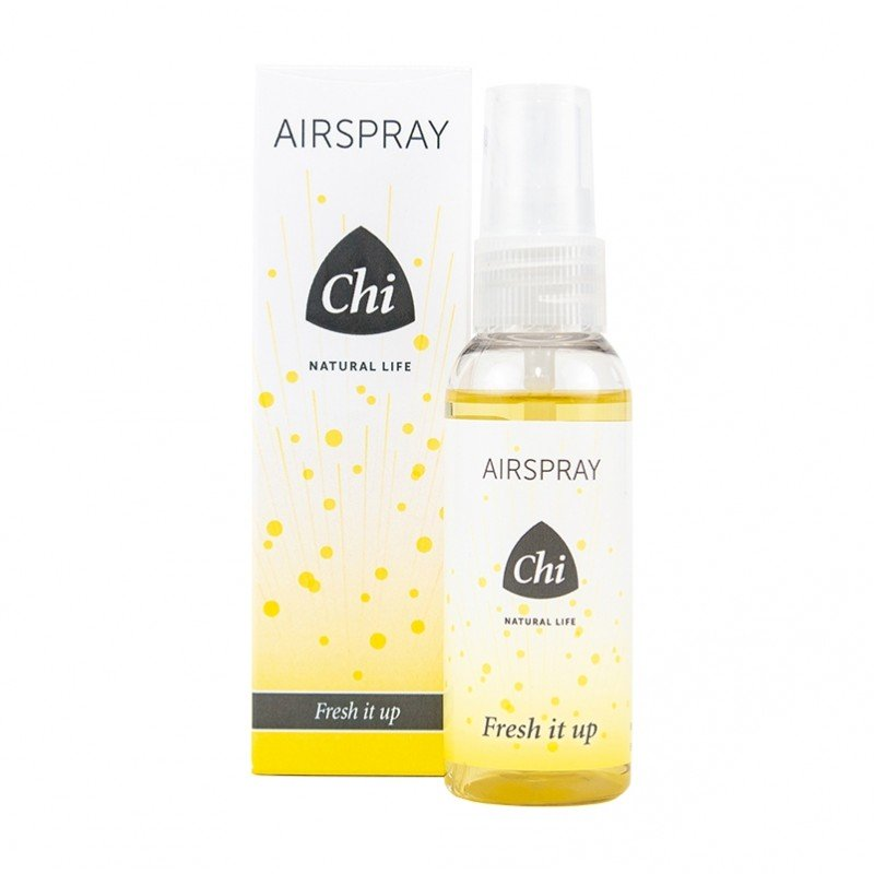Chi 100% natuurlijke airspray Fresh it up. Pepermunt, lemongrass, citroen, geranium, lavandel