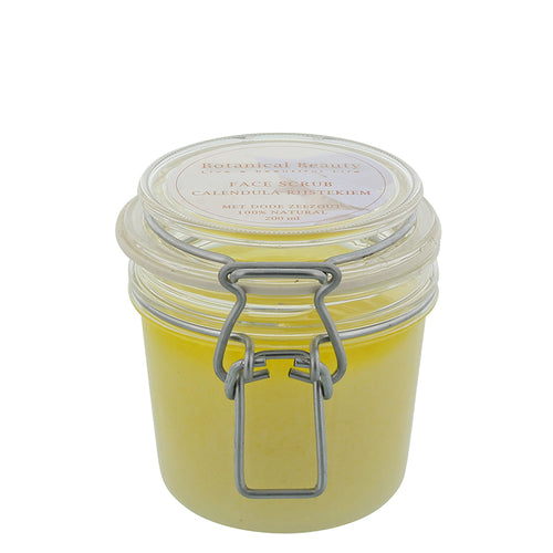 Botanical Beauty Facescrub Calendula Rijstkiem 50 m