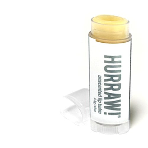 HURRAW! Unscented vegan 100% natural lipbalm