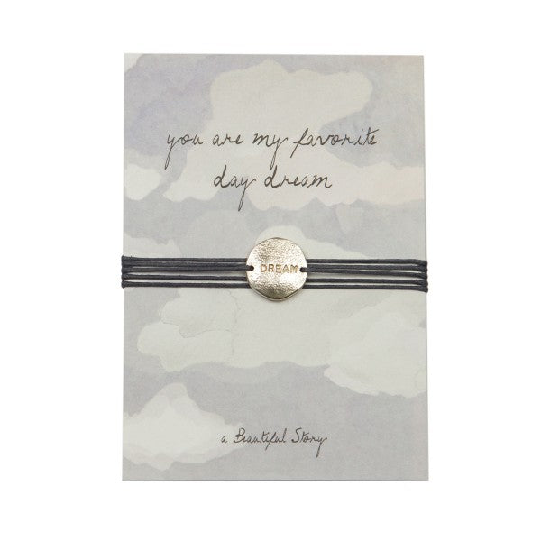 A Beautiful Story - jewelry postcard dream- you're my favourite day dream