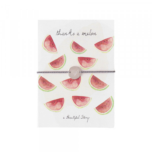 A Beautiful Story - Jewelry postcard - Watermelons