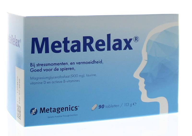 Metagenics - Metarelax-tabletten-90