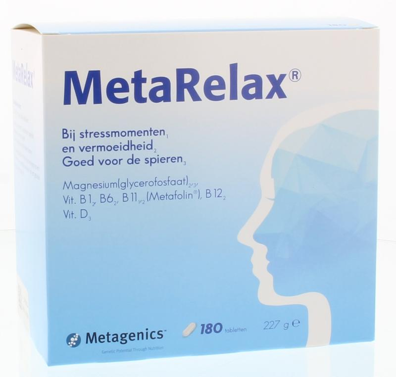 Metagenics - Metarelax-tabletten-180