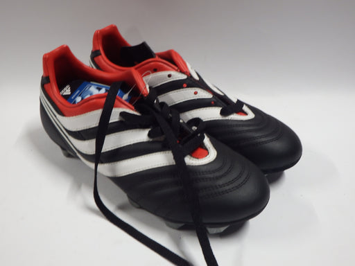 Adidas Predator Football Boots Incsin Trx SG J UK 5 Black/White/Red - Image 1