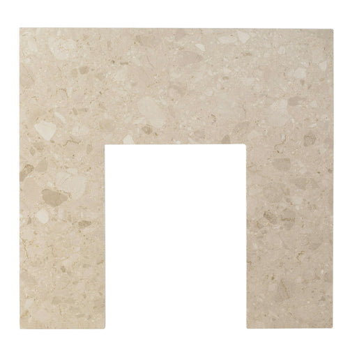 Aurora Botticino White Marble Back Panel 940 x 940mm - Image 1
