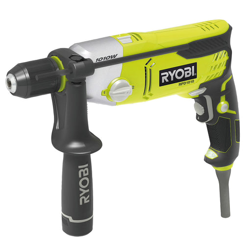 Ryobi Corded Brushed Hammer Drill 1010W RPD1010-K - Image 1
