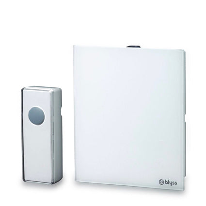 Blyss Wireless White Portable Door Chime - Image 1