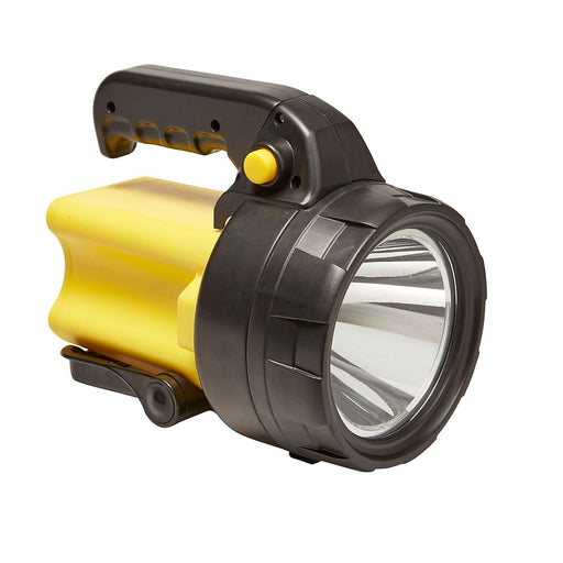 Diall LED Torch RSI305848W Black and Yellow Plastic Rechargeable - Image 1