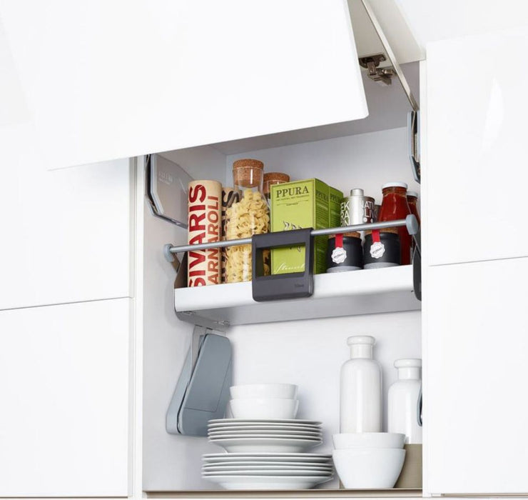 Kesseböhmer Pull Down Shelf Cabinet Storage IMove Silver Effect 470 x 270mm - Image 2