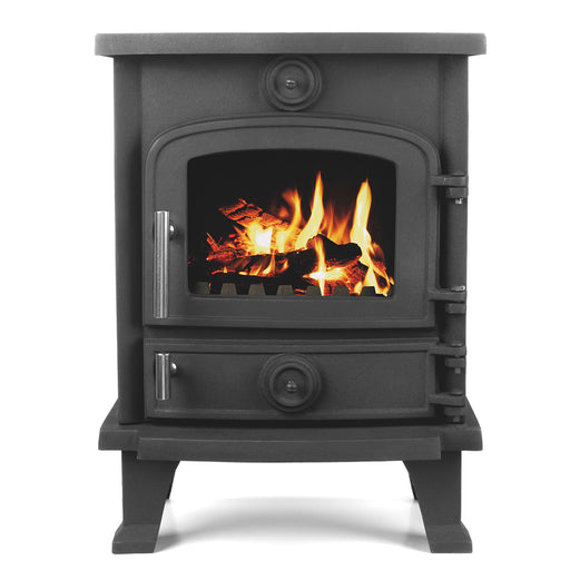 Modern Beldray Black Electric Stove 5kW - Image 1