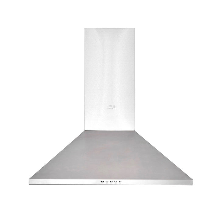 Cooke & Lewis CLCHS60 Chimney Cooker Hood Inox Stainless Steel - Image 2